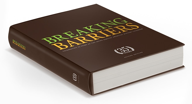 Photo of Breaking Barriers book